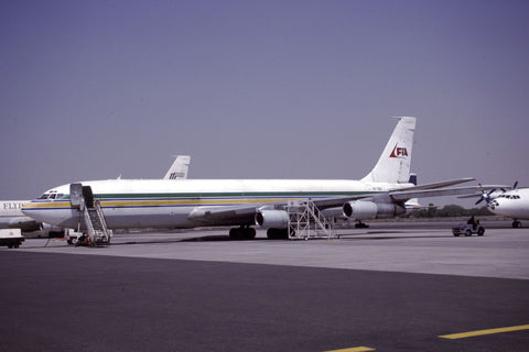B.707-300 9G-OOD First International Airlines Jan-00