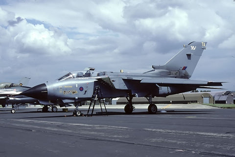 Tornado GR.4 ZD720/TA RAF/15(R)Sqdn named 'Spirit of Speyside' Aug-02