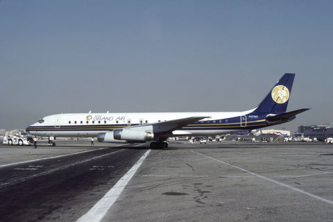 DC.8-62 N801MG MGM Grand Air Oct-90