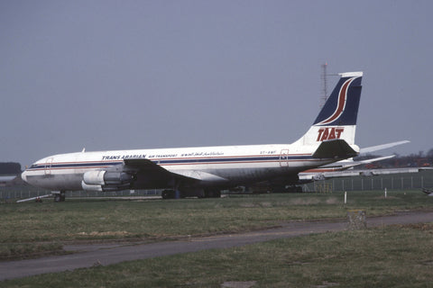 B.707-300C ST-AMF Trans Arabian Air Transport Feb-00