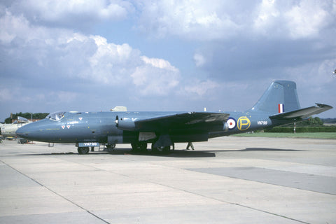 Canberra T.4 WJ874 RAF/39Sqdn - flew as VN799/P '50th anniversary Canberra'