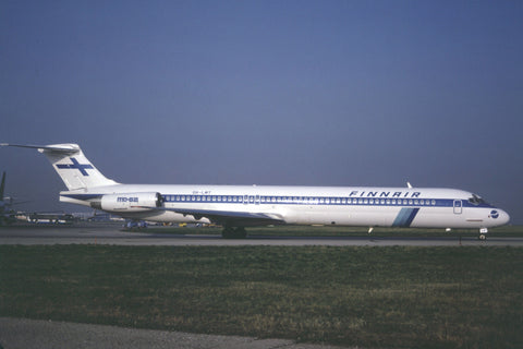 MD-82 OH-LMT Finnair Apr-90