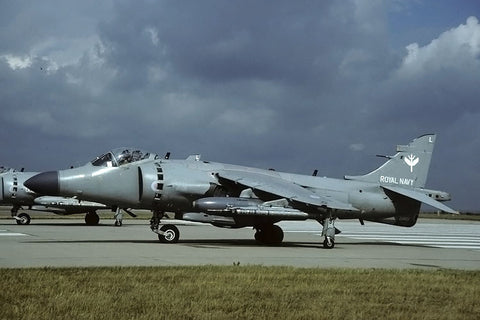 Sea Harrier F/A.2 ZH801/L FAA/801Sqdn Jul-01