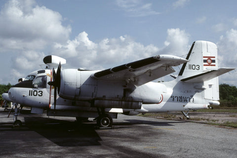 S-2F 1103 Thai Navy Oct-97