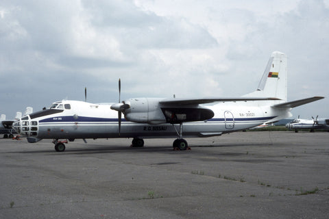 An-30 RA-30021 Government of Guinea Bissau Jul-93