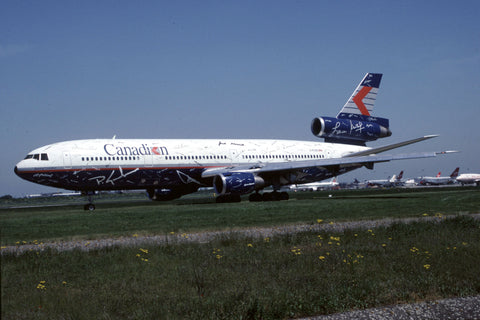 DC.10-30 C-FCRE Canadian Airlines May-98 - logo jet