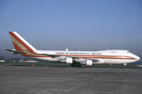 B.747-200 N707CK American Int'l Airways - Kalitta c/s Oct-99