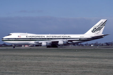 B.747-200 N470EV Evergreen International Airlines