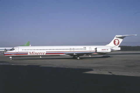 MD-83 F-GGMC Minerve Dec-90