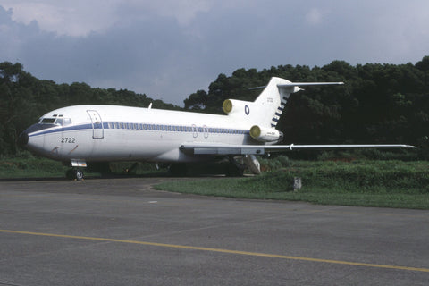 B.727-100 2722 Rep of China AF Aug-00