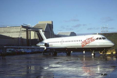 BAC 1-11 200 N106EX Pacific Express Feb-82