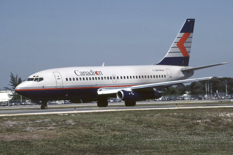 B.737-200 C-GKPW Canadian Airlines Nov-90