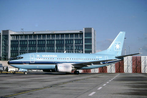 B.737-500 OY-MAF Maersk Air Jan-00