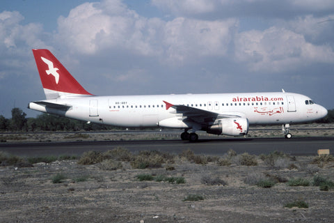 A.320-200 A6-ABY Air Arabia Jan-05