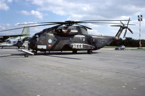 CH-53G 84+01 German Army/WTD-61 no date