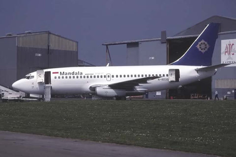B.737-200 N803SR Mandala Airlines May-00