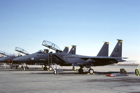 F-15E 86-0187/LA USAF/461stTFTS,405thTTW (TAC) marked '461TFTS' Nov-88