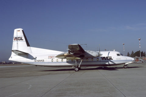 F.27-600 D-BAKB WDL Aviation May-99
