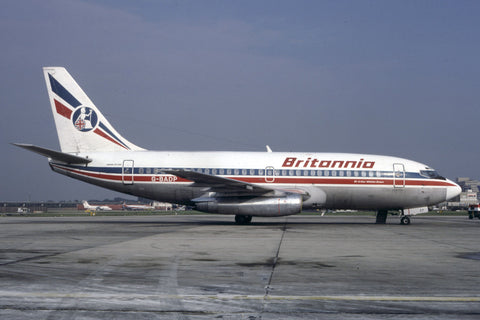 B-737-200 G-BADP Britannia Airways Oct-86