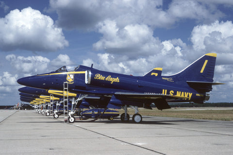 155029/1 A-4F USN/Blue Angels May-80