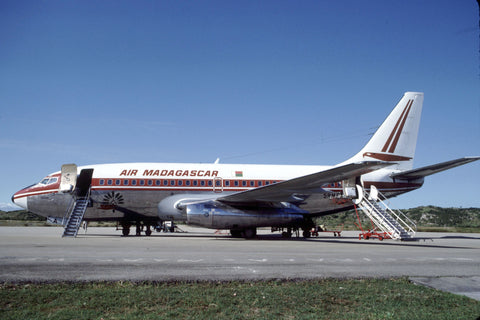 5R-MFA B.737-200 Air Madagascar Jul-90