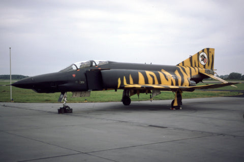 35+76 RF-4E West German AF/AKG-52 tiger c/s Jul-84