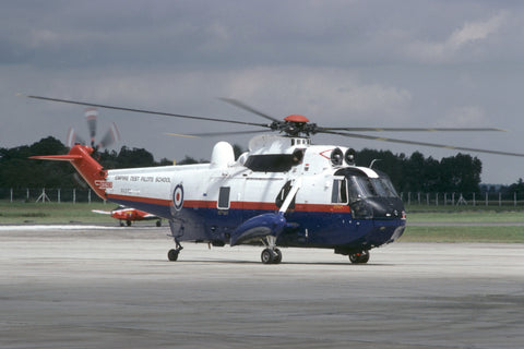 XV370 SH-3D Sea King RAF/ETPS Jul-87