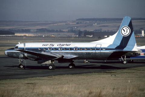 LN-BWG CV.580 Nor-Fly Charter Feb-82