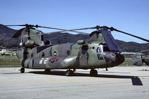HH-47D 19-084 Republic of Korea AF/235thSRS Nov-06
