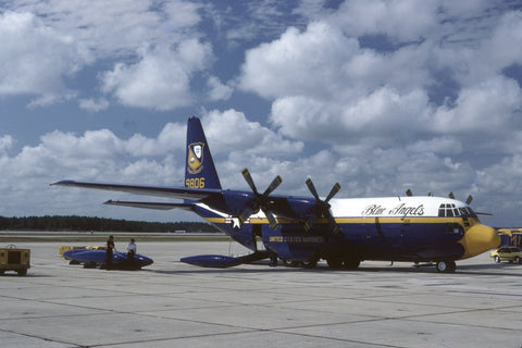 149806 KC-130F USMC/Blue Angels Nov-80