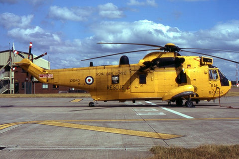 ZH540 Sea KIng HAR.3 RAF/Rescue no date