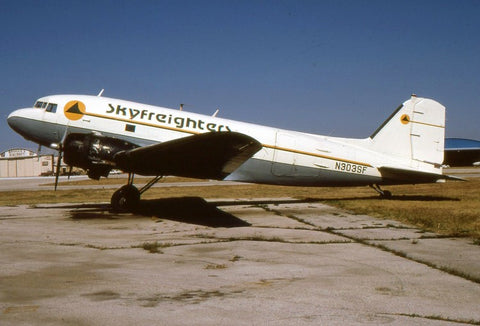 C-47A N303SF Skyfreighters Nov-90