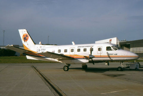 E.110 LN-TDY Teddy Air Oct-95