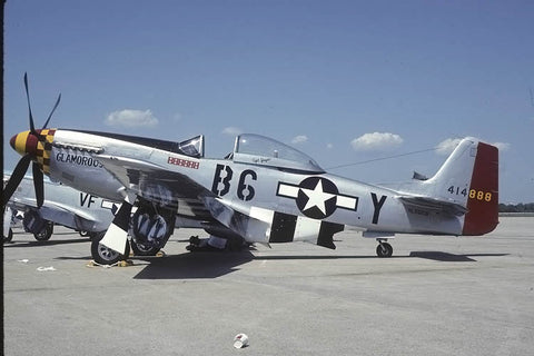 P-51D '44-14858' flew as NL551CB 'Glamerous Glenn II' no date