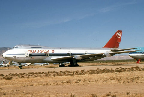 B.747-100 N609US Northwest Airlines Nov-93
