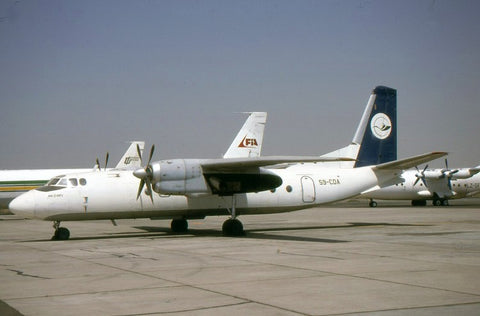 An-24RV S9-CDA no tiltles Jan-00
