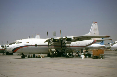 An-12BK D2-FBZ no titles Jan-00