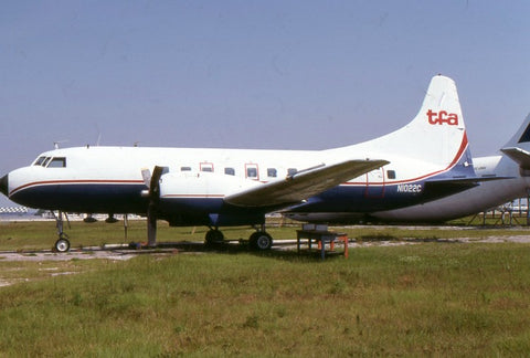 CV.240 N1022C Trans-Florida Airlines Jul-01