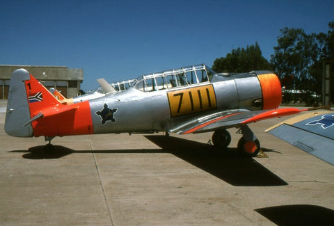 Harvard Mk.IIA 7111 South African AF Feb-96