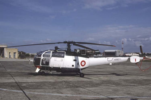 Alouette III AS9201 Malta Air Wing Oct-04