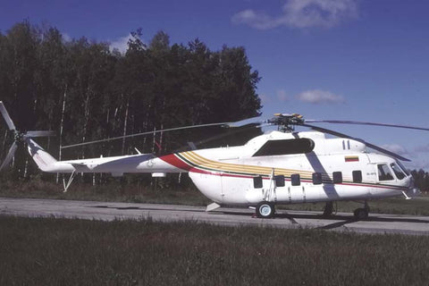 Mi-8PS 11 Lithuanian AF Oct-03