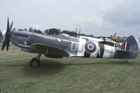 Spitfire Mk.1a TE566/DU-A RAF flew as G-BLCK no date