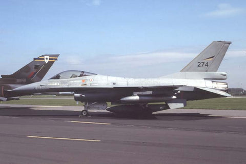 F-16A 274 Norwegian AF/332Skv May-90