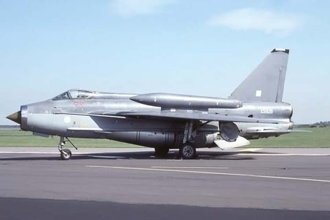 Lightning F.6 XS928 RAF/BAE Warton May-90