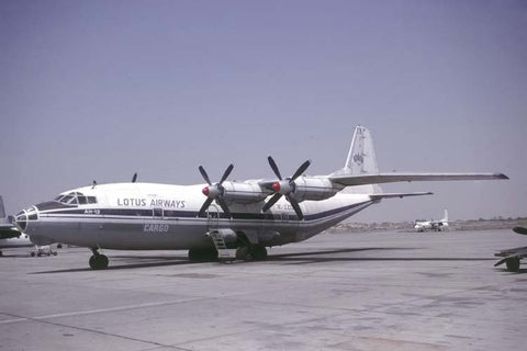 An-12B 3C-ZZD Lotus Airways Cargo Oct-00