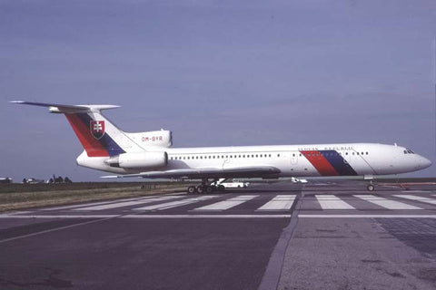 Tu-154M OM-BYR Slovakian Government Mar-01