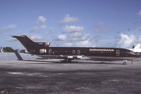 B.727-200 HI-630CA Dominicana Jan-93
