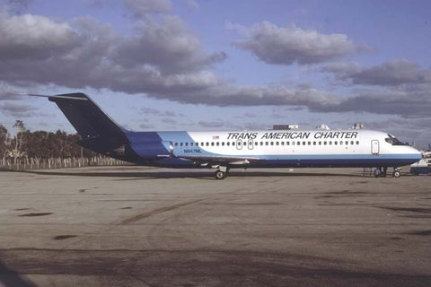 MD-90 N947ML Trans American Charter Jan-96