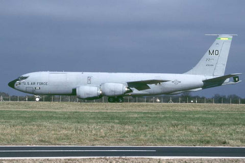 KC-135R 63-8004/MO 366thWG (ACC) Feb-02 - marked as 22ndARS nose art!