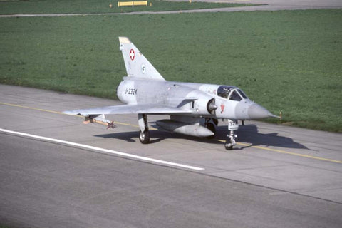 Mirage IIIS J-2324 Swiss AF Apr-98